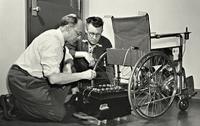 Electric Wheelchair From The Past To The Future
