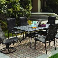 Wicker Patio Dining Set | Patio Design Ideas