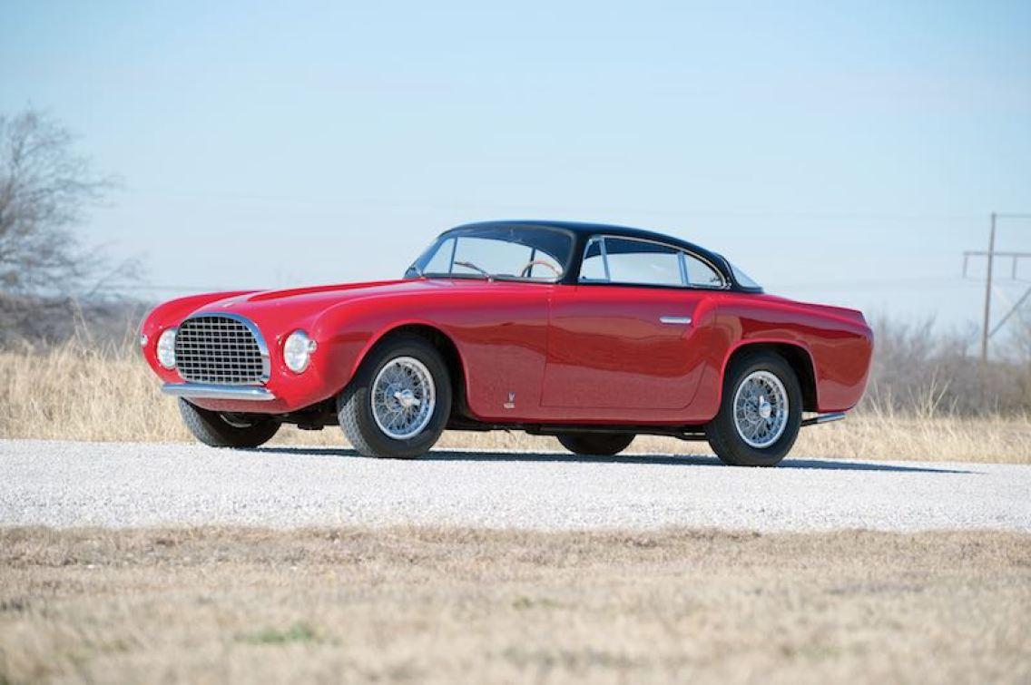 1953 Ferrari 212 Europa Coupe by Vignale (photo: Glenn Zanotti)