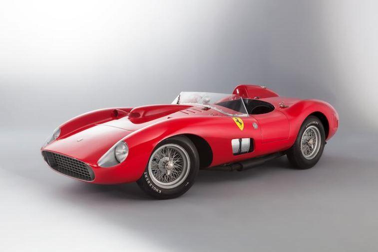 1957 Ferrari 335 S Scaglietti Spyer, Collection Bardinon (photo: Christian Martin)