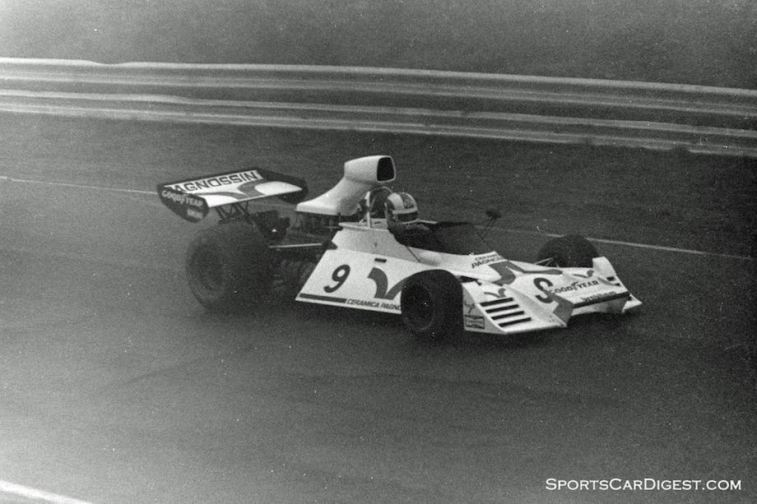 Rolf Stommelen in his Brabham