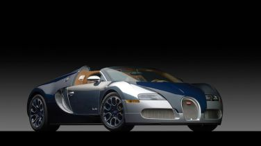 2011 Bugatti Veyron 16.4 Grand Sport Bleu Nuit