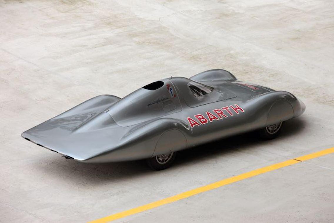 """1960 Abarth 1000 Bialbero Record Car """"La Principessa"""" (photo: Piotr Degler)"""