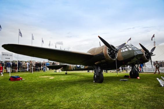 Bristol Blenheim, winner of the Freddie March Spirit of Aviation (photo: Dominic James)