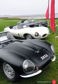Jaguar XKSS Class at 2010 Pebble Beach Concours