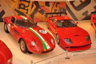 1966 Ferrari 275 GTB and 2004 Ferrari 575 GTC