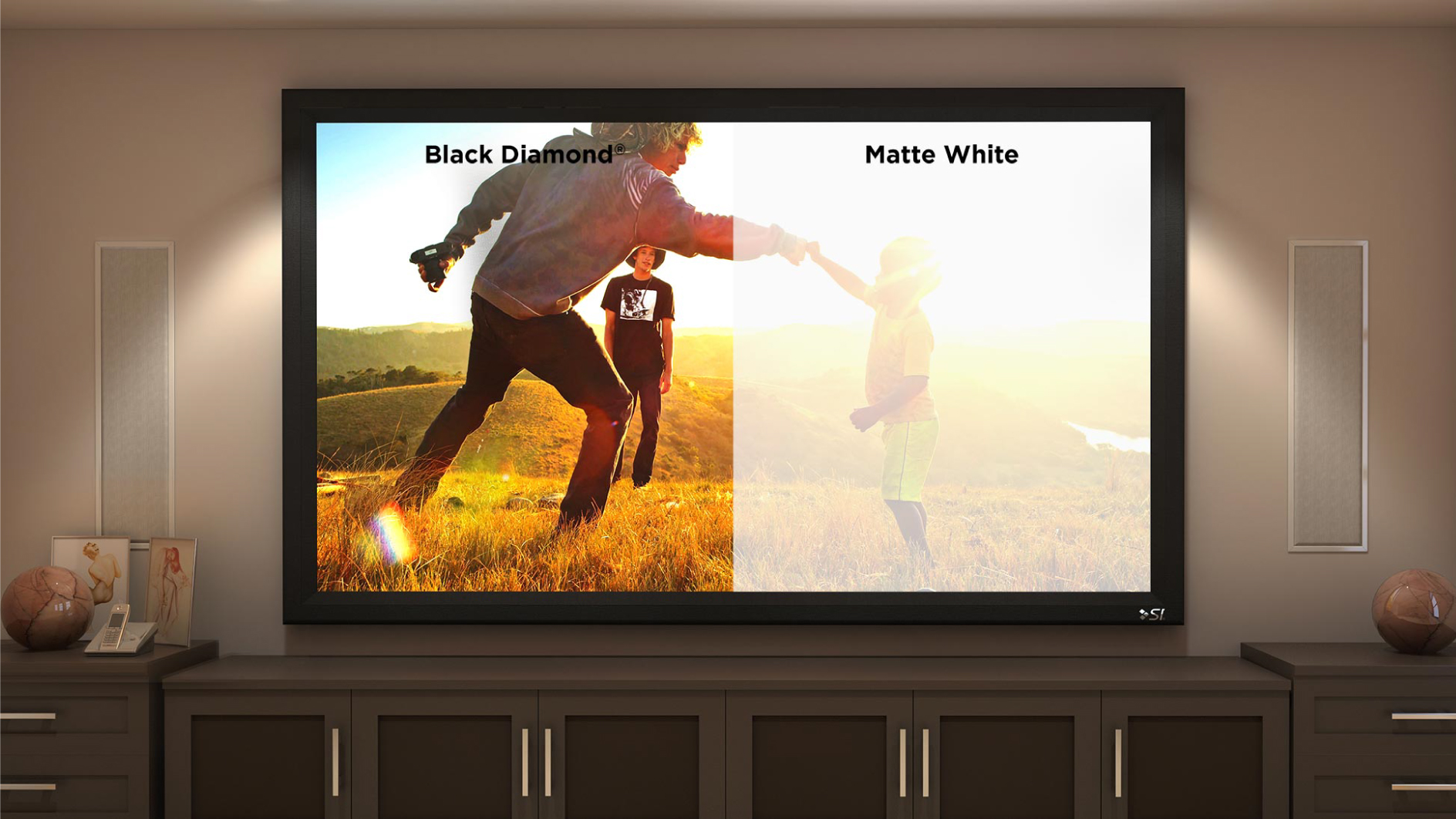 Tv Panel Kaufen Black Diamond Screen Innovations