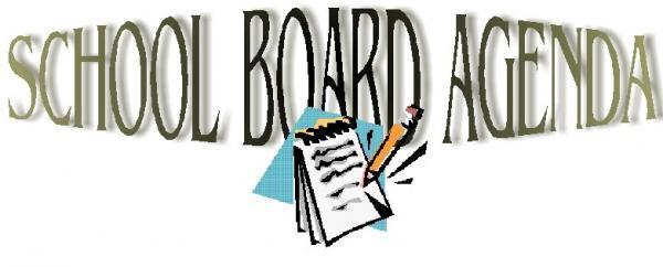 Holly Creek School - Holly Creek School - School Board Monthly Agenda - school agenda