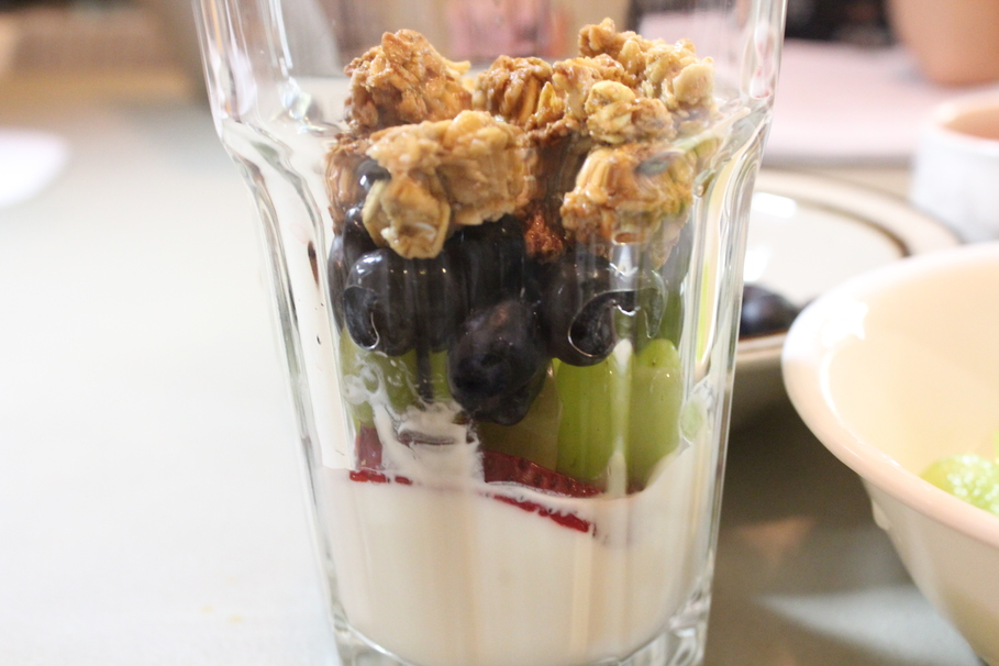 Ridiculously Easy Yogurt Parfait Using All Trader Joe's Products