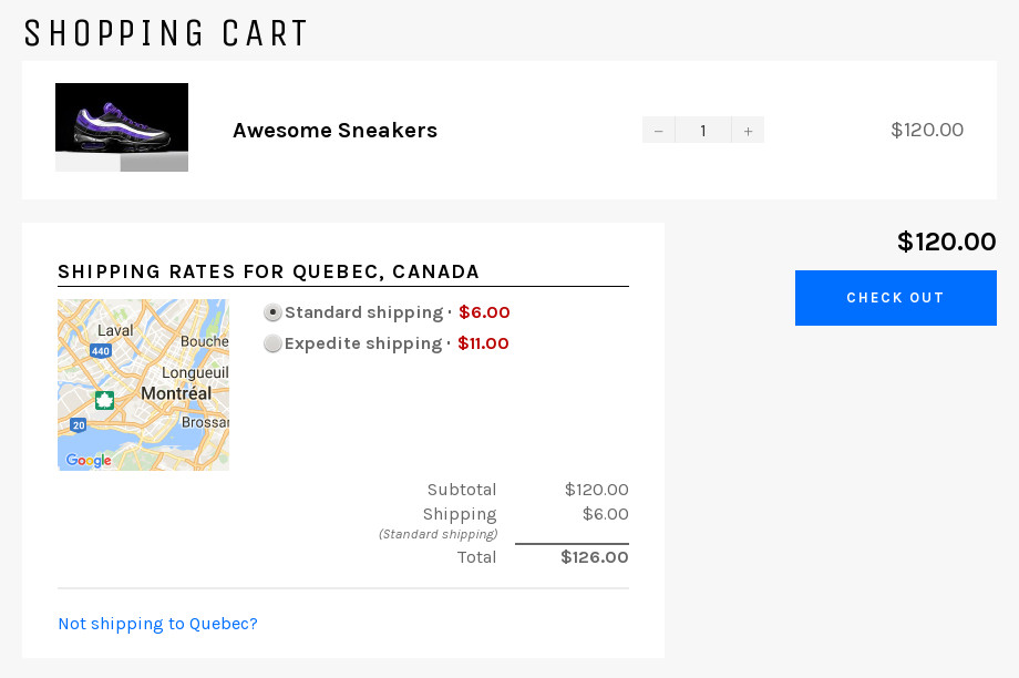 Shipping Rates Calculator Plus \u2013 Ecommerce Plugins for Online Stores - product pricing calculator