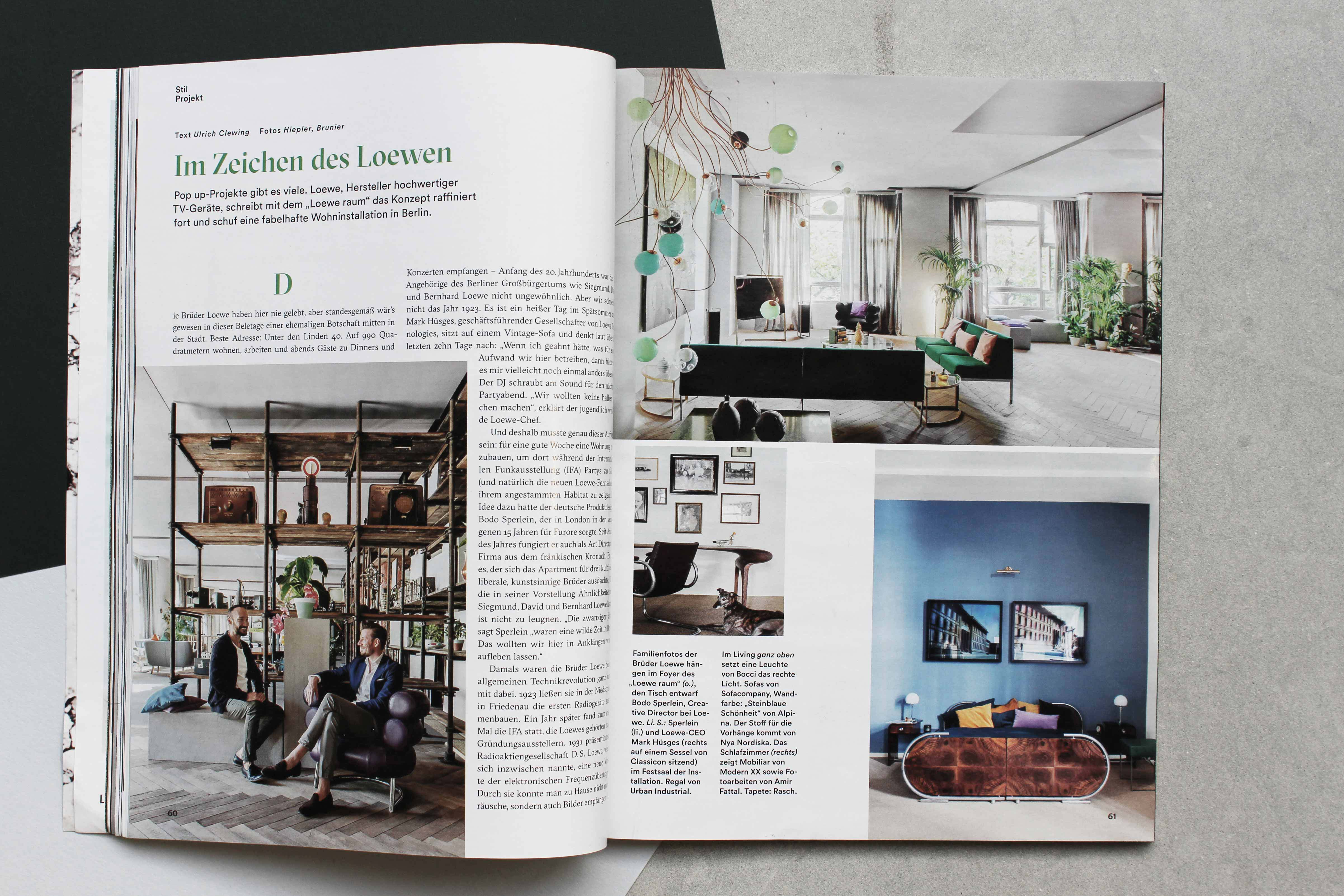Vorhänge Industrial Applause From Architectural Digest