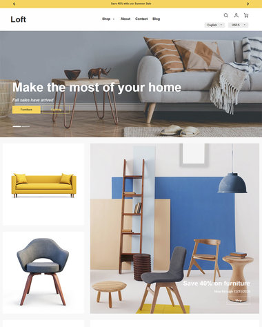 Ecommerce Website Templates - Free and Premium Themes for Your
