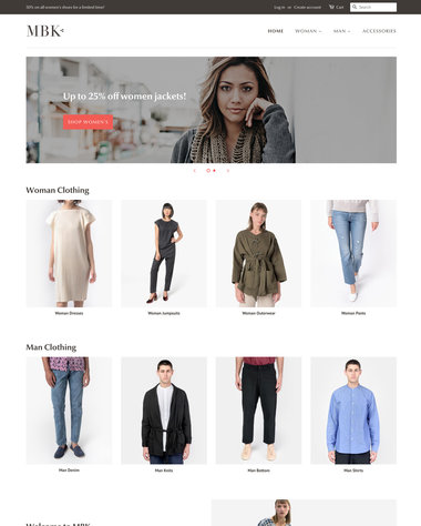 Clothing  Fashion Ecommerce Website Templates - Free and Premium