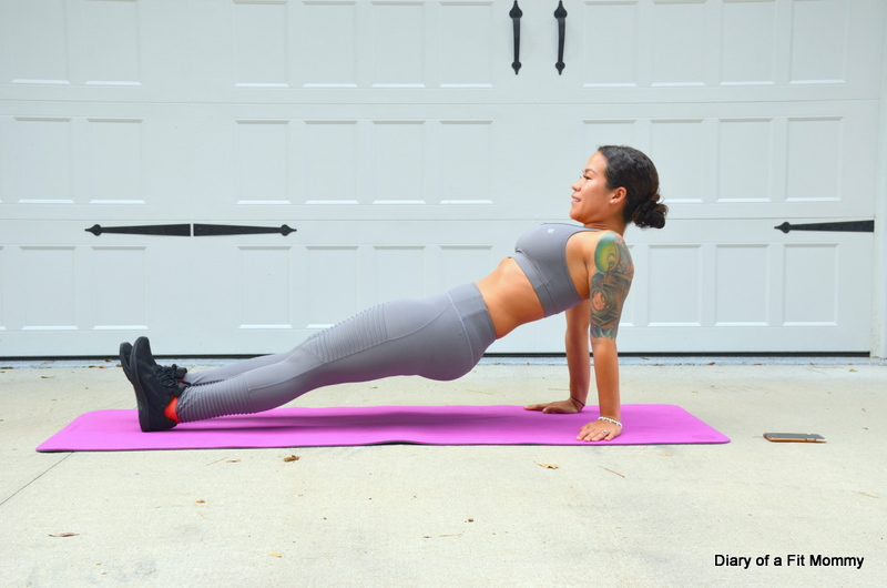 30 Days Of Planksgiving Plank Workout Challenge Diary