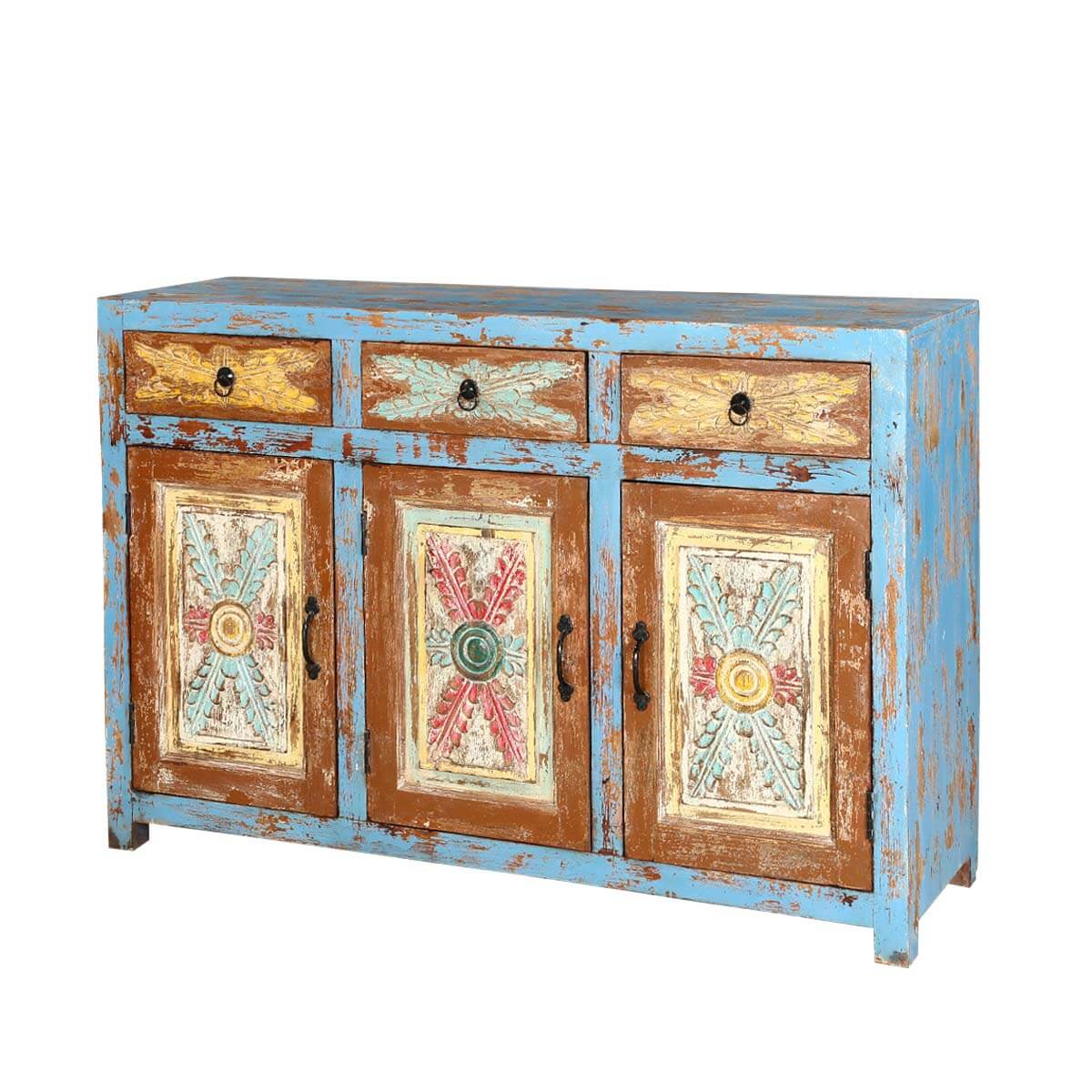 Buffet Sideboard Blue Tangier 53