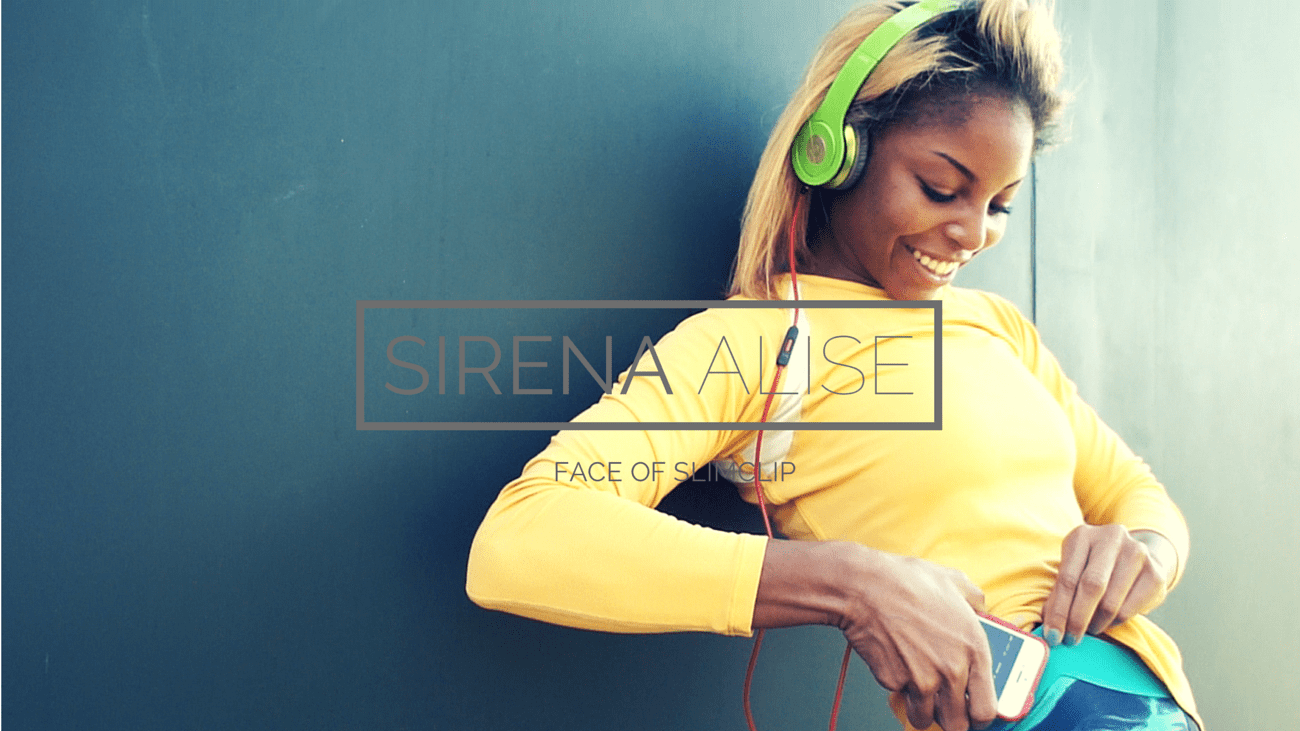 sirena alise pro athlete and face of slimclip case