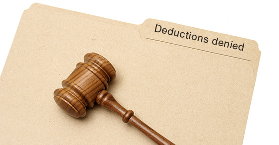 Court denies deductions A taxpayer ran his businesses through - unreimbursed employee expense