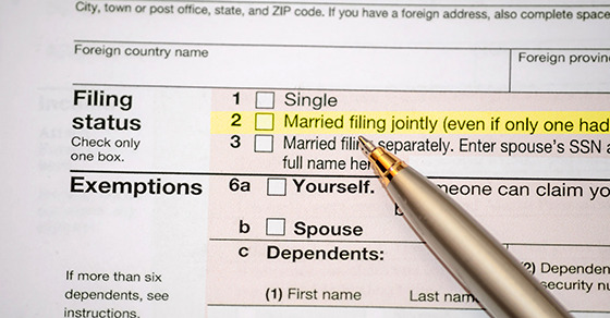 Innocent spouse relief granted When a married couple files a - injured spouse form