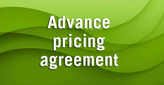 Tax Court IRS was wrong in canceling companyu0027s advance pricing - transfer agreement