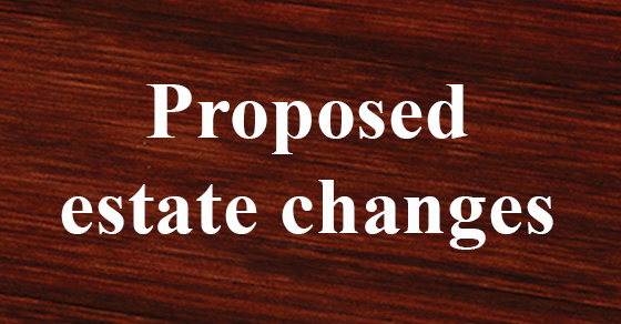 Planning your estate and wondering how the proposed law will - transfer agreement