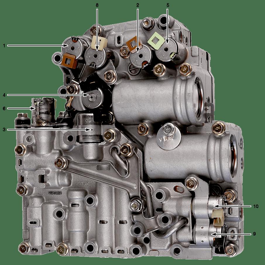 automatic transmission valve body jf506e manual