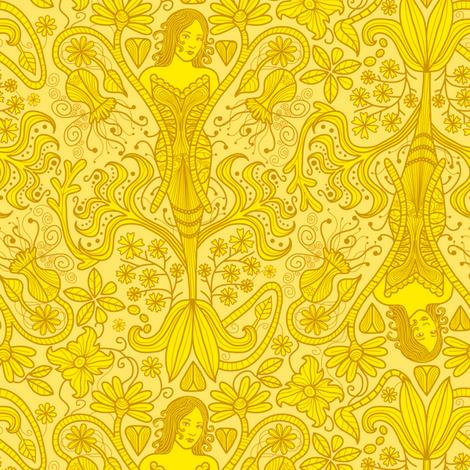 The Yellow Wallpaper fabric