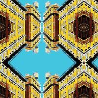 Water Tower Bowtie fabric - relative_of_otis - Spoonflower