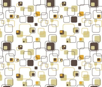 Groovy Cubes - 9in (gold) wallpaper - studiofibonacci - Spoonflower