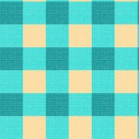 teal yellow gingham wallpaper - mojiarts - Spoonflower