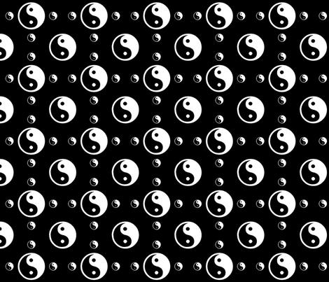 Black Removable Wallpaper Black And White Yin Yang Wallpaper Peacefuldreams