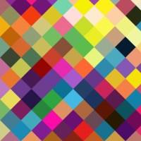 Colorblock diamonds wallpaper - creativeqube_design ...