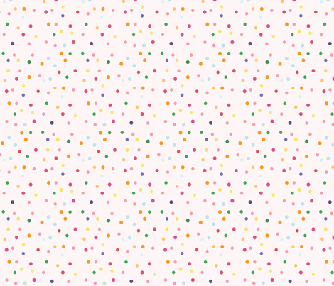 Wallpaper Hd Snow Falling Pink Sprinkles Fabric Icingonthepaper Spoonflower
