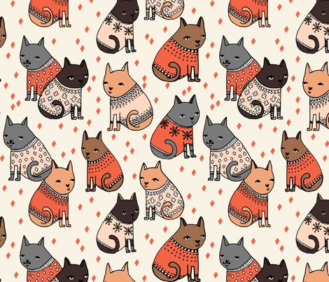 Fall Owl Wallpapers Cats In Sweaters Holiday Christmas Sweater Ugly Sweater