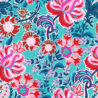 Teal Paisley Backgrounds