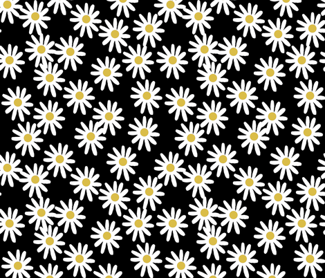 Floral Print Iphone Wallpaper Daisy Daisies Flowers Florals Flower Black And White