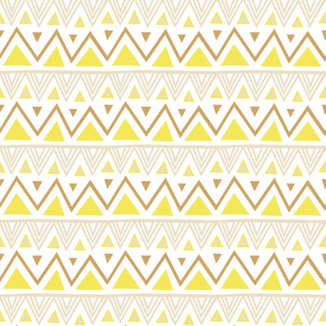Cute Tribal Patterns Wallpaper Pastel Tribal Yellow Wallpaper Kimsa Spoonflower