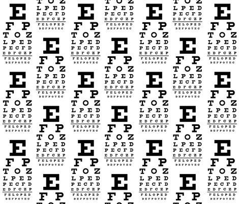 Standard Vision Chart in Black and White wallpaper - weavingmajor