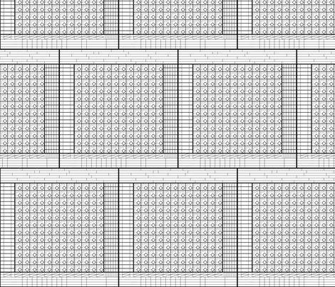 baseball scorecards fabric - mongiesama - Spoonflower