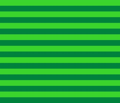 Stripes - Horizontal - 1 inch (254cm) - Dark Green (#00813C