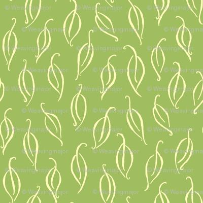 Wallpaper Leaves Falling Green Tea Leaves Wallpaper Weavingmajor Spoonflower