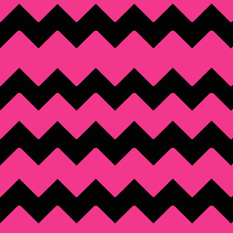 Black And White Polka Dot Wallpaper Border Hot Pink Black Chevron Zig Zag Pattern Fabric Decamp