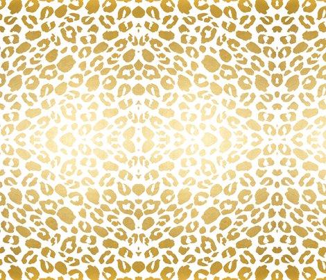 Animal Removable Wallpaper Gold Leopard Print Wallpaper Jenlats Spoonflower
