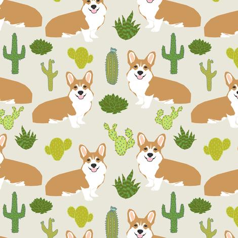 Shiba Inu Cute Desktop Wallpaper Corgi Corgis Cactus Plants Light Background Nursery Baby