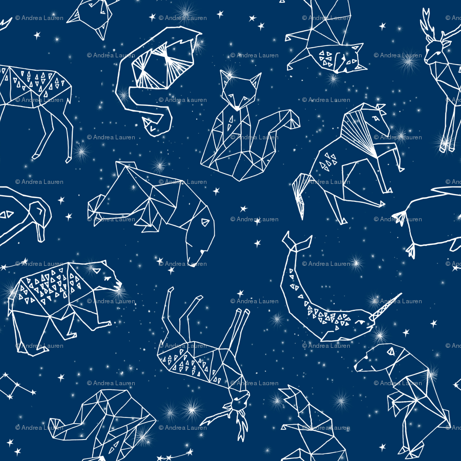 Stars Room Decor Constellations Geometric Constellations Animals Stars Night Sky