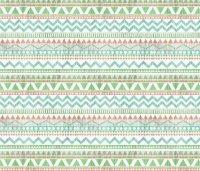 Pastel Linen Aztec Stripe wallpaper - floramoon_designs ...