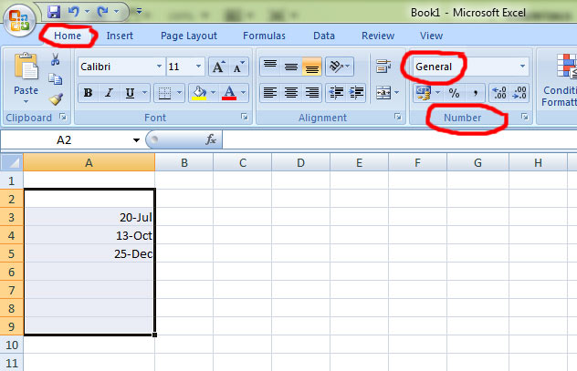 Formatting Date and Time in Excel 2010 - Simon Sez IT