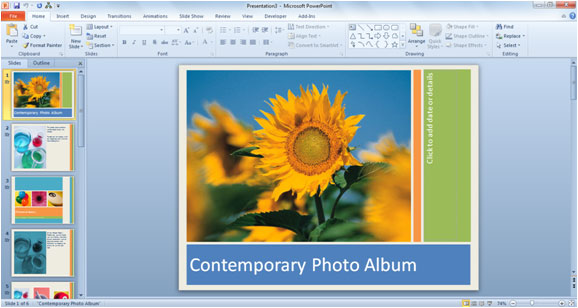 How to Use PowerPoint 2010 Templates Simon Sez IT