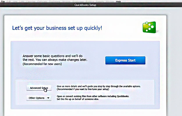 How to create a company file with QuickBooks Pro 2013 Simon Sez IT