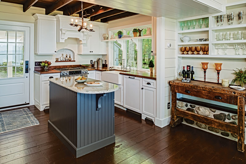 Small Cabin Kitchens