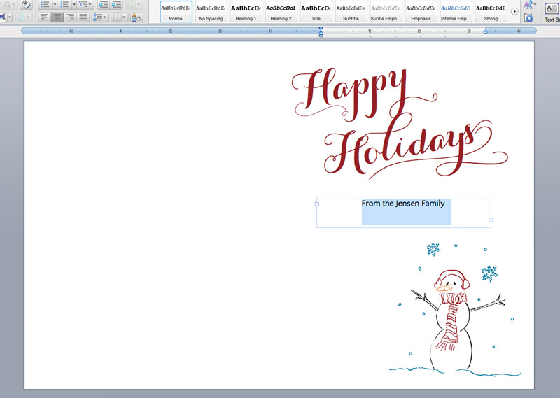 Printable Holiday Cards + Liners on The Paper Chronicles - printable christmas card templates